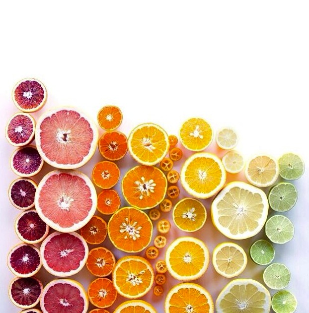 rainbow of lemons and oranges 2